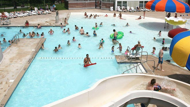 Daily Express file photo of the previous Kirksville Aquatic Center.