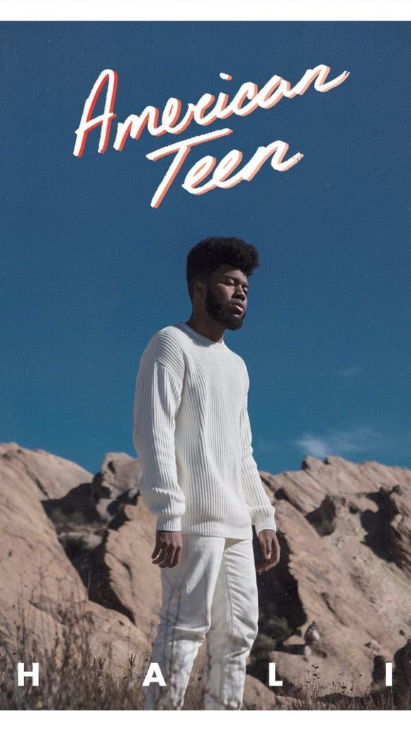 "Khalid's debut album ""American Teen"" will be released"