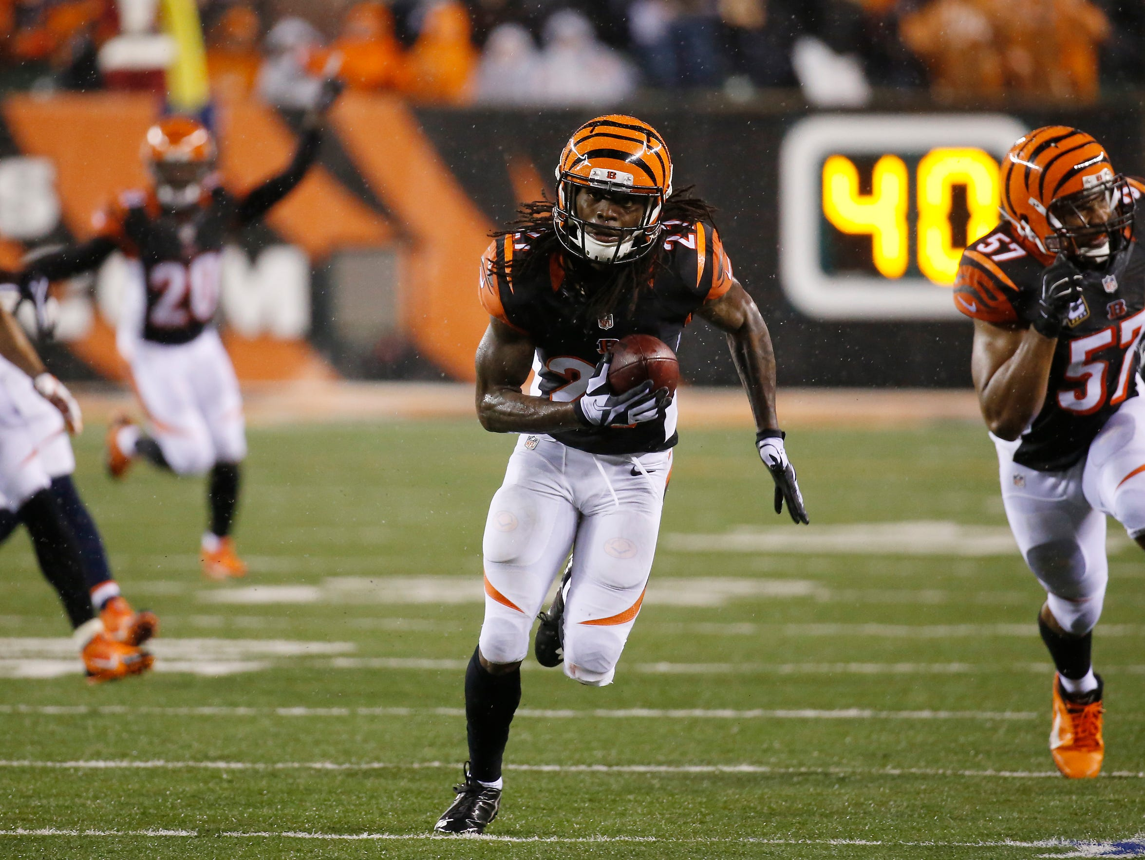 Bengals Dre Kirkpatrick The hard way every time