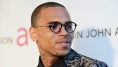 Chris Brown in February 2013.