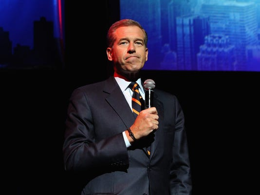 FILE: NBC Suspends Brian Williams For Six Months