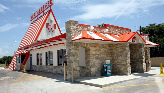 A recently renovated Whataburger in Corpus Christi.