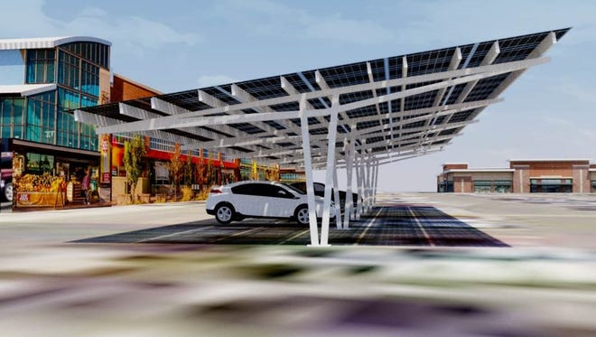 Florida Power & Light Co. will build solar canopies covering the parking lot at Stuart's Kiwanis Park.