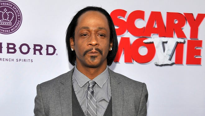 Katt Williams, seen here at a 2013 movie premiere, was arrested Wednesday, April 27, 2016, on a battery charge for throwing a salt shaker at a restaurant manager in East Point, Ga.