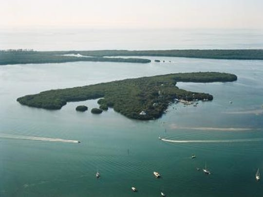 Cruise to Cabbage Key for dockside takeout