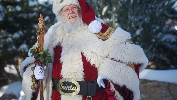Santa Claus is coming to the Empire Mall.