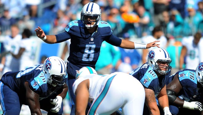 Titans quarterback Marcus Mariota has missed the past two weeks, but his offense will look much different when he returns with a new coach and possibly no Kendall Wright.