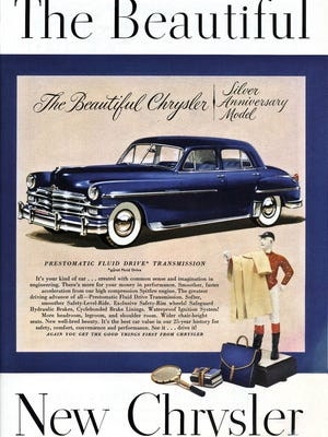 Chrysler Corporation introduced its all-new line of post war cars in 1949, but the cars didn't arrive in dealer showrooms until mid-1949. Competitors had their new 1949 models at dealer showrooms in late 1948, making for a short year of sales.