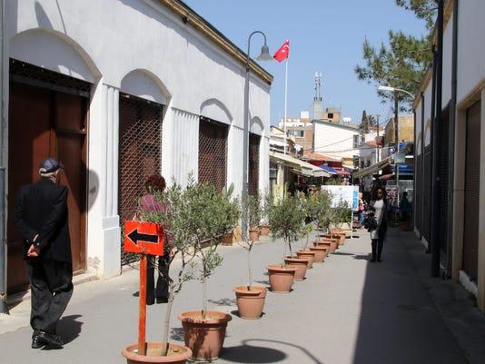 EPA CYPRUS BUFFER ZONE POL REFUGEES CYP