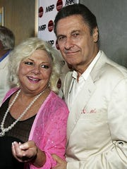 Actress Renee Taylor poses with Joseph Bologna at the