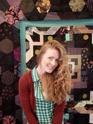 Bobi Sue Herring, the creative mind behind Copper Plum, is the featured quilter at Quiltopia this year.