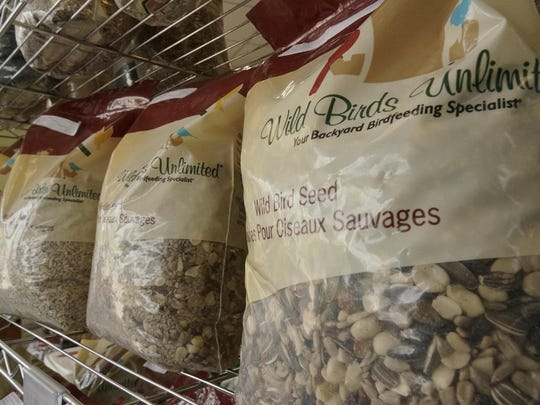 Wild Birds Unlimited carries its own brand of bird feed.