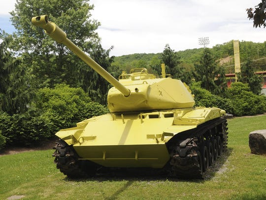 WV Story on lemon-lime painted tank