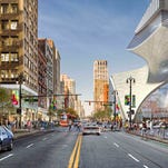 Dan Gilbert's tower on Hudson's site to set 'high-water mark' for rent