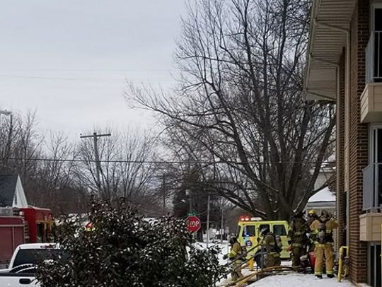 Springfield firefighters responded to the Nu Elm Apartments