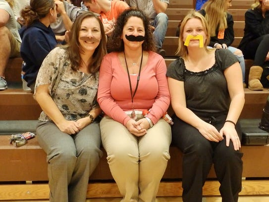 (From left) Cathy Bullock, Dena Brogen and Ashley Trost,