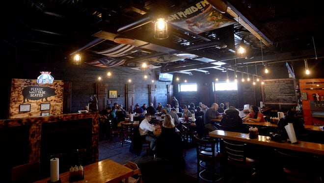 The new, expanded dining area at Meat Southern B.B.Q. & Carnivore Cuisine in Old Town,  Feb. 26, 2015.