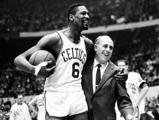 In this Dec. 12, 1964 file photo, Boston Celtics' Bill
