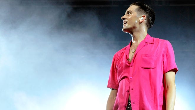 G-Eazy performs onstage during day 1 of the 2016 Coachella Valley Music & Arts Festival in California. He's headed to the PNC Bank Arts Center latyer this month.