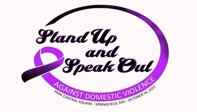 A march and rally for survivors of domestic violence is 4-7 p.m. Saturday at Park Central Square.