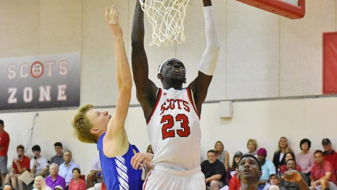 St. Andrew's center Yussif Basa-Ama (23) was a Class 3A first-team selection.