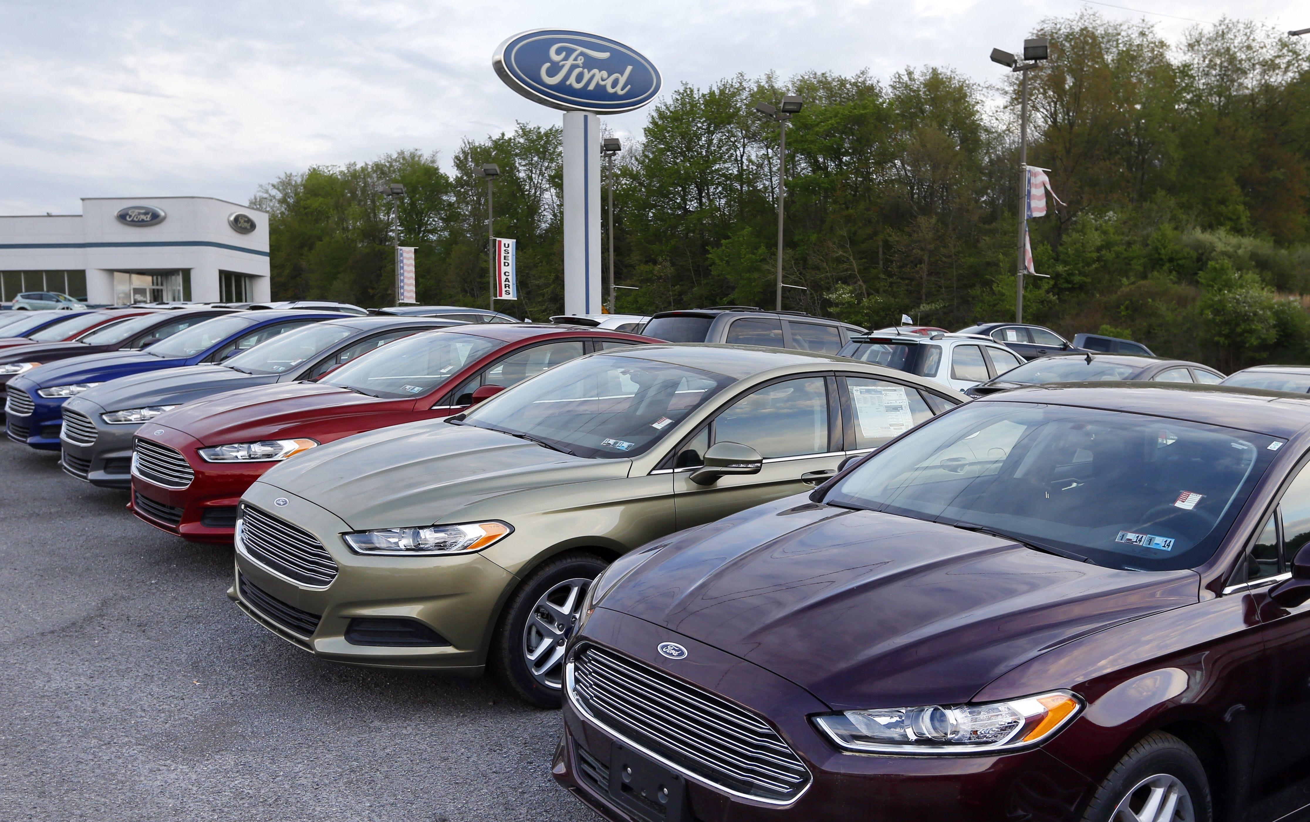 AP AUTO SALES F FILE USA PA & General Motors Ford Toyota lead the way in U.S. auto sales markmcfarlin.com