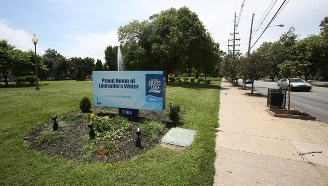 The Louisville Water Co. facility near Stilz and Frankfort avenues is slated to undergo construction of new facilities on the campus. July 18, 2016