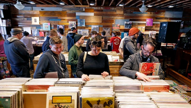 Throngs of vinyl lovers will crowd into Acme Records & Music Emporium Saturday for Record Store Day.