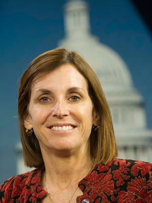 Officials at the Democratic Congressional Campaign Committee recently left Rep. Martha McSally's southern Arizona district off their list of seats to win, while including another Arizona district.