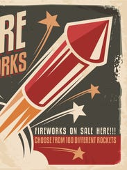 ROSES: 12 percent sales tax on Class C fireworks. You