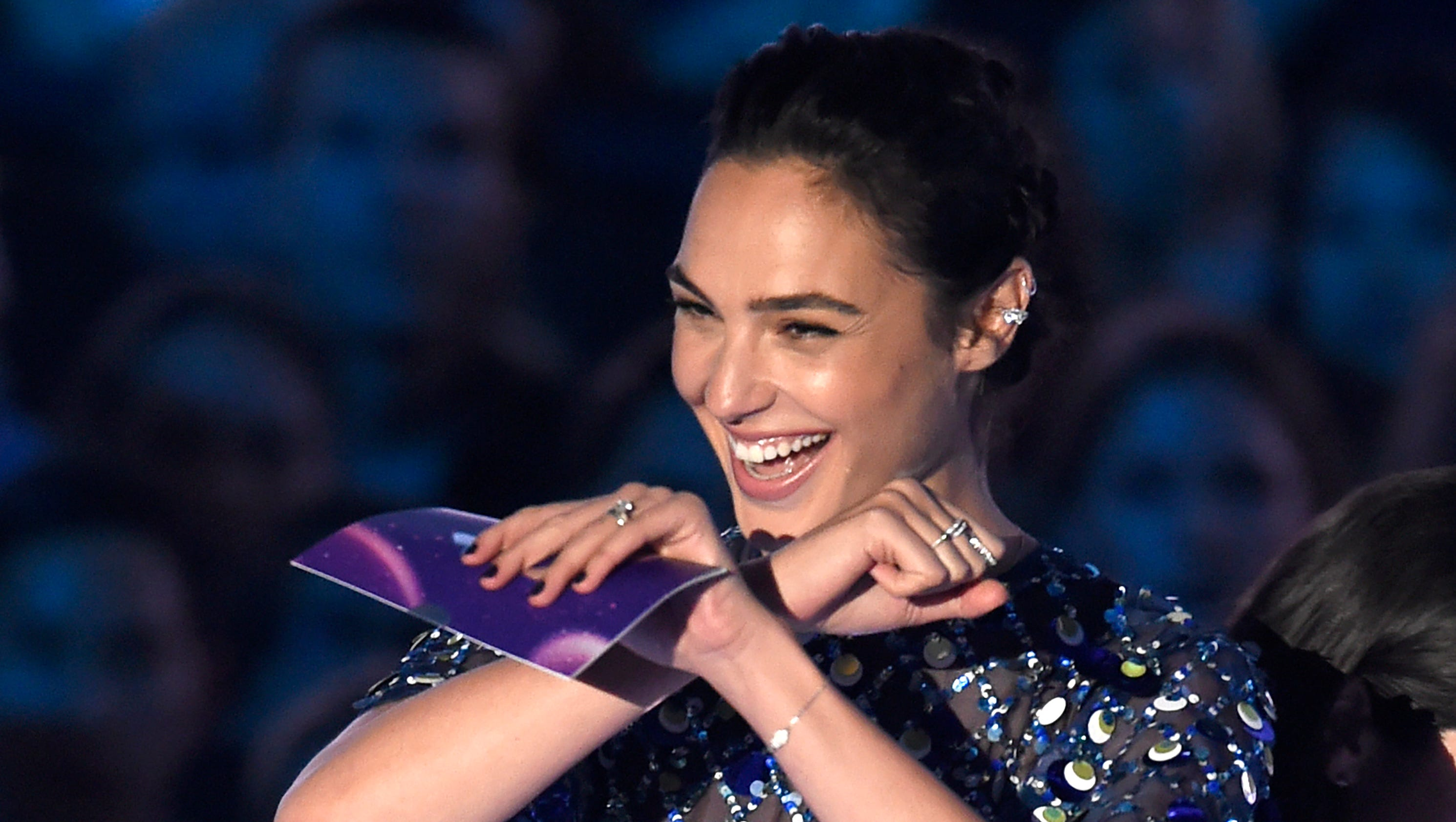 See Gal Gadot's cutest 'Wonder Woman' blooper moments with ...