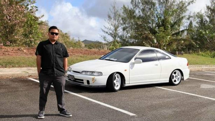 Charles Arnaiz showcases his 2000 Acura Integra on