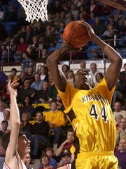 Kickapoo graduate Anthony Tolliver shown during his high school playing days
