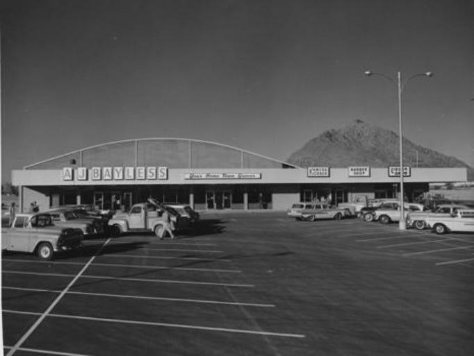 A.J. Bayless market in 1959