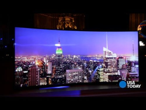 CES 2014: Samsung introduces curved TVs