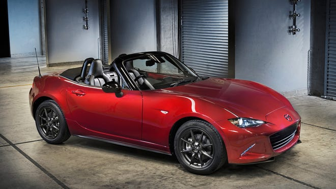 Mazda The MX-5 Miata is the only two-seat, rear-drive roadster in its price class. The MX-5 Miata is the only two-seat, rear-drive roadster in its price class.