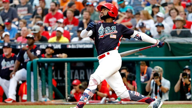 Jo Adell tripled and also had a sacrifice fly in the USA's Futures Game victory.