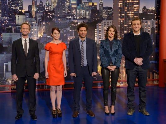 HIMYM cast on Letterman