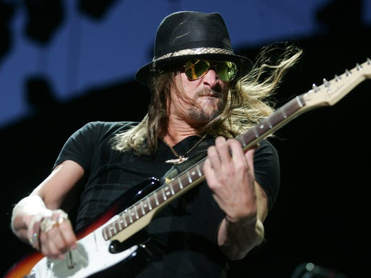Kid Rock performs at the 2009 Stagecoach country music festival in Indio, Sunday, April 26, 2009.