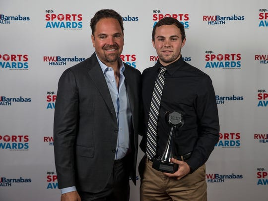 Hall of Fame professional baseball player Mike Piazza