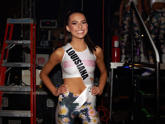 Lindsey Conque, Miss Louisiana TEEN USA 2018, backstage during the MISS TEEN USA® Preliminary Competition at Riverdome at the Horseshoe Casino and Hotel on Wednesday, May 16.