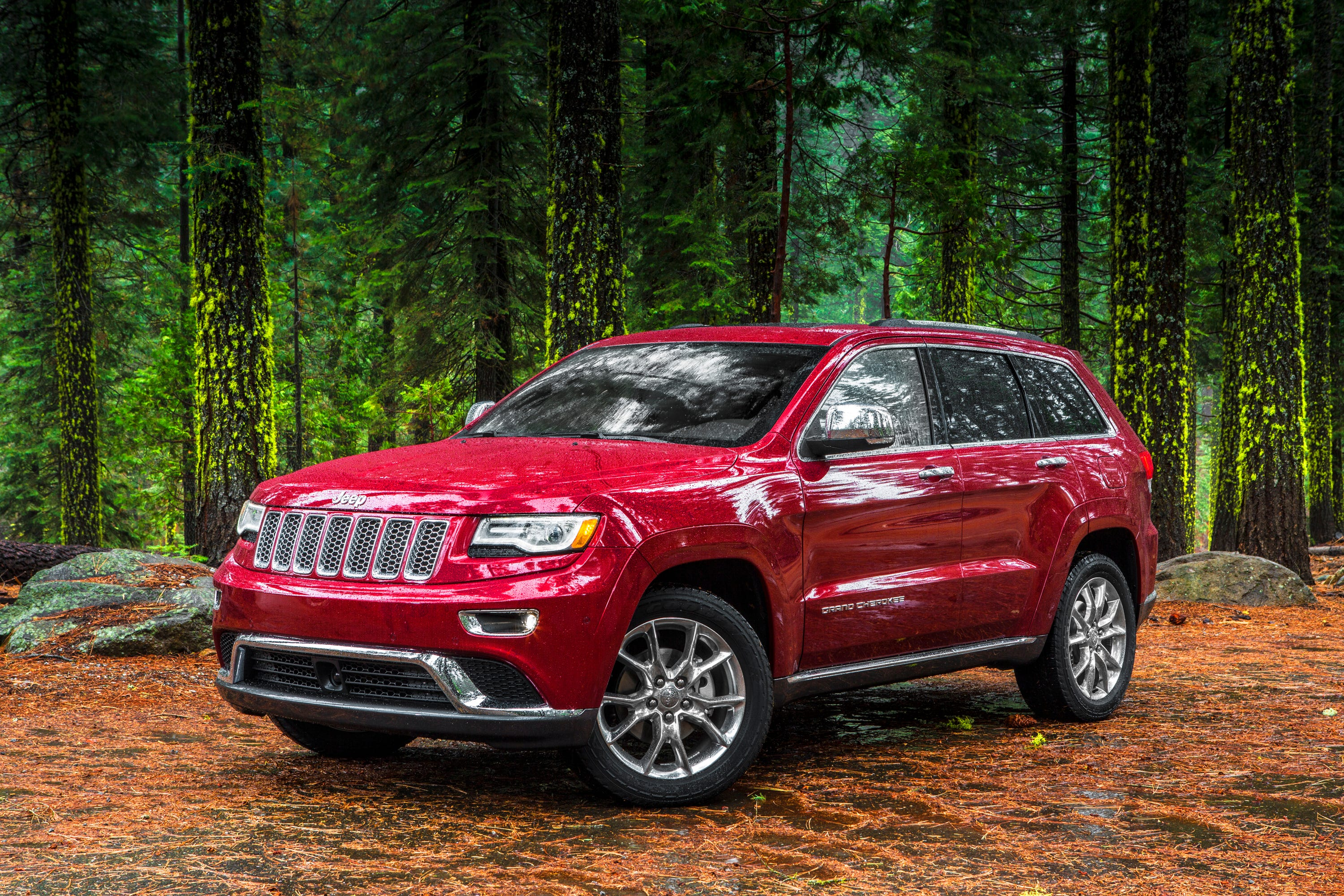 How much does a jeep grand cherokee weigh