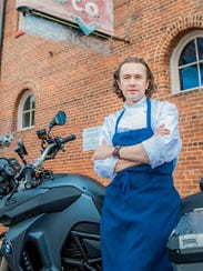 Tim Peters is chef de cuisine of Trattoria Delia and