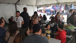 Families participate at the Food City Tamale Festival