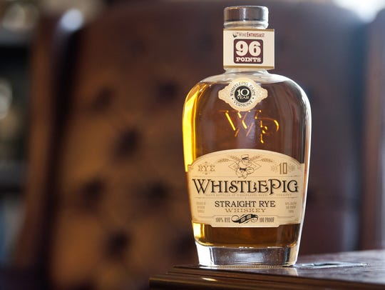 """A New York maker of vodka has demanded WhistlePig """"cease"""