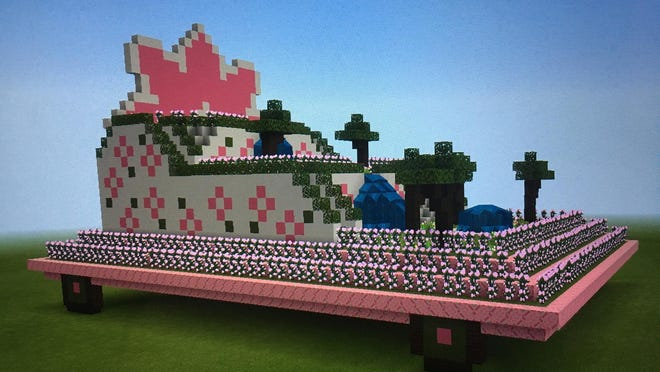 In the Azalea Minecraft Creation Competition, video players of all ages can compete to create the best Azalea Festival Parade float.