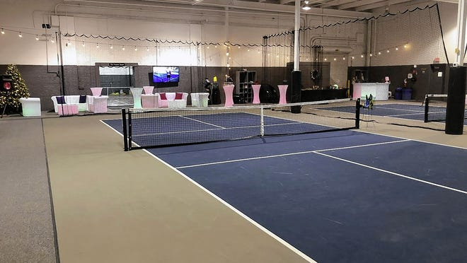 "SuperGames, a nonprofit special-events company that provides entertainment equipment, has built two ""state-of-the art"" pickleball courts at its Worthington warehouse, 6580 Huntley Road, company CEO Gary Moore said. Because recreational uses are not permitted in the district zoned for heavy industrial uses, the company is trying to gain authorization from the city to allow their public use."