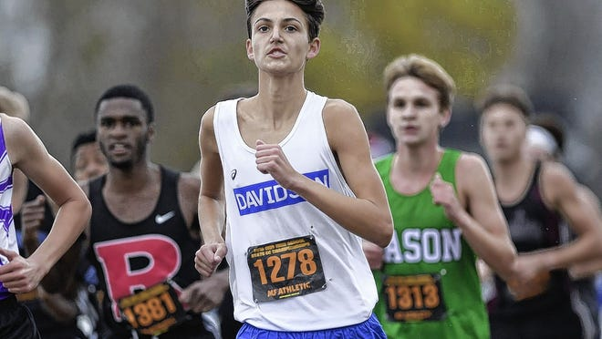 Sophomore Connor Ackley returns to lead Davidson after finishing 22nd in the Division I state meet last season.