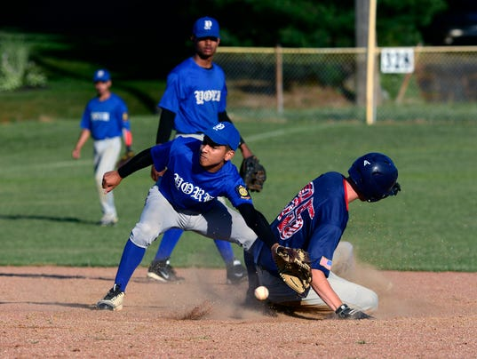 PHOTOS:York vs. Pleasureville American Legion Baseball