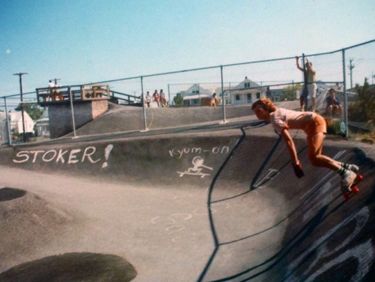 The Ocean Bowl Skate Park is the oldest continuously